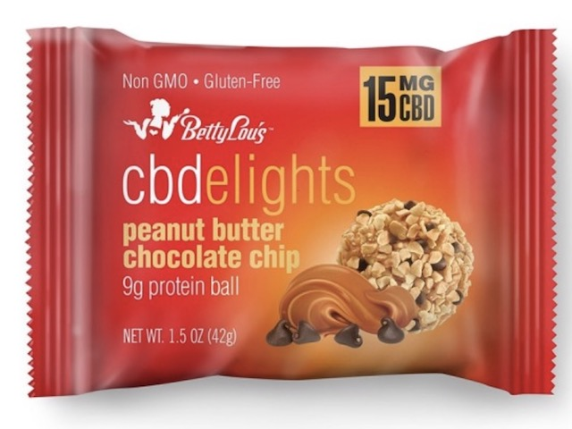 Image of CBDelights Peanut Butter Chocolate Chip Protein Balls