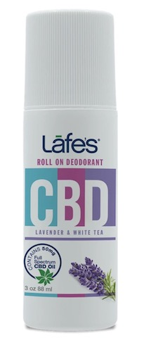 Image of CBD Deodorant Roll On Lavender & White Tea