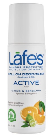 Image of Deodorant Roll On Active (Citrus & Bergamot)