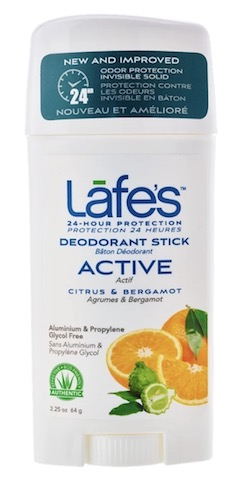 Image of Deodorant Stick Active (Citrus & Bergamot)