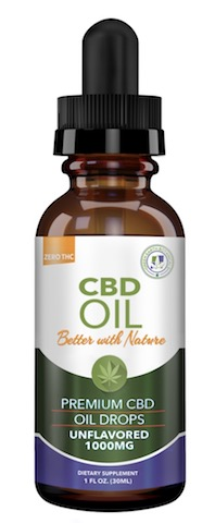 Image of CBD Oil 1000 mg Unflavored