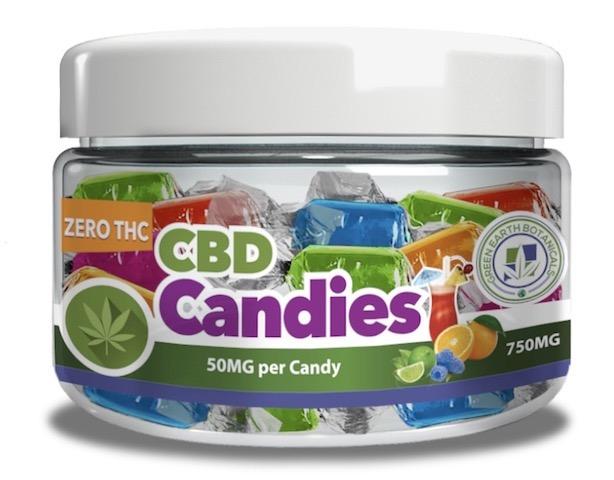 Image of CBD Candies 750 mg (50 mg each)