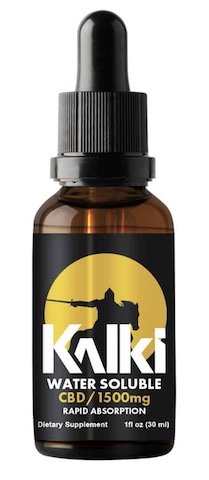 Image of Kalki CBD Oil Water Soluble 1500 mg (50 mg per Serving)