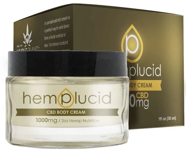 Image of Hemplucid CBD Body Cream 1000 mg