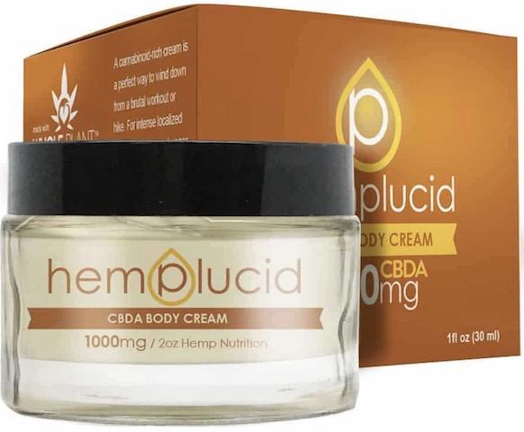 Image of Hemplucid CBDA Body Butter 1000 mg