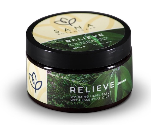 Image of Relieve Warming Hemp Salve
