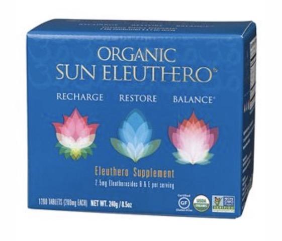 Image of Sun Eleuthero 200 mg Organic