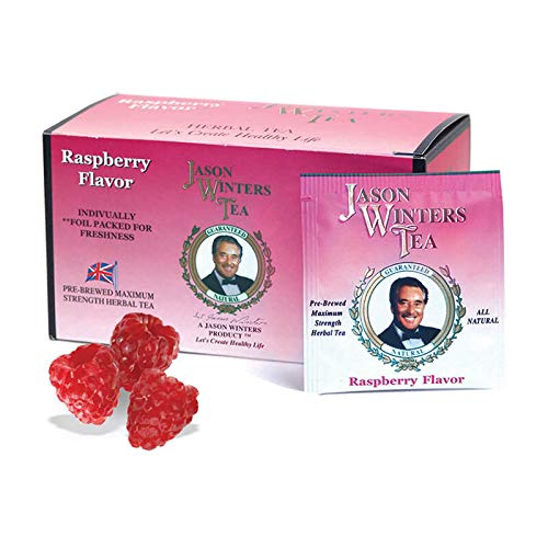 Image of Jason Winters Tea Bag Raspberry Flavor without stevia