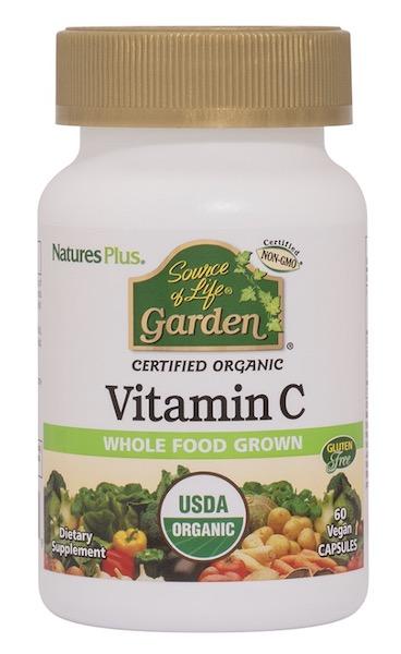 Image of Source of Life Garden Organic Vitamin C 500 mg