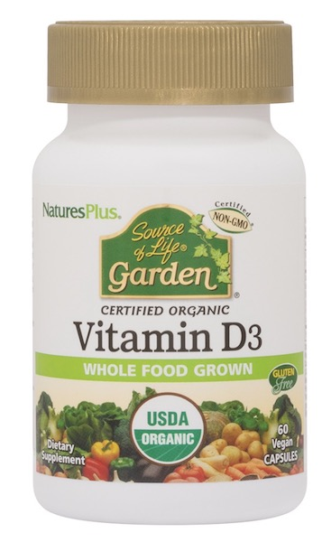 Image of Source of Life Garden Organic Vitamin D3 2500 IU