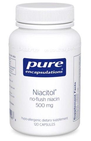 Image of Niacitol 500 mg (No-Flush Niacin)