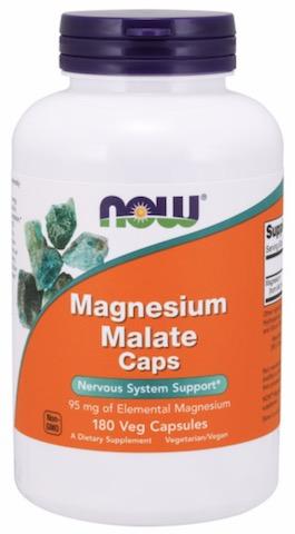 Image of Magnesium Malate Caps 95 mg