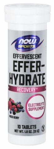 Image of Effer-Hydrate Electrolyte Effervescent Tablet Mixed Berry