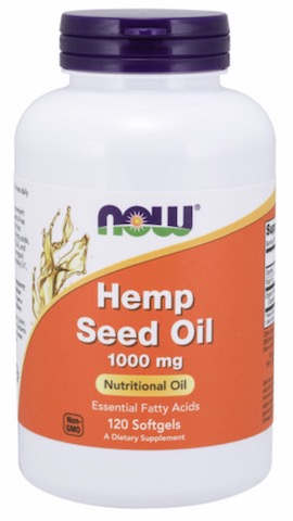Image of Hemp Seed Oil 1000 mg