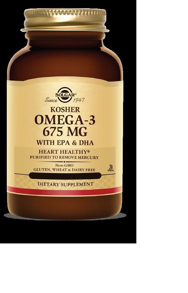 Image of Omega-3 675 MG Kosher Softgels
