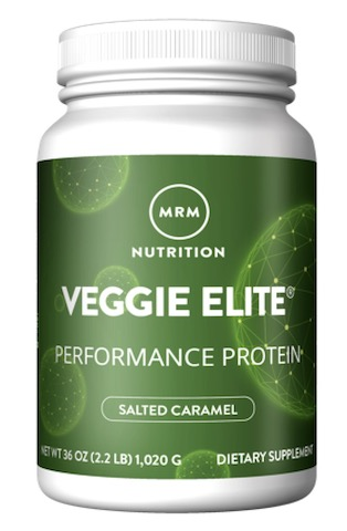 Image of Veggie Elite Performance Protein Powder Salted Caramel