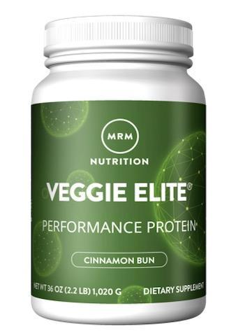 Image of Veggie Elite Performance Protein Powder Cinnamon Bun