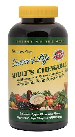 Image of Source of Life Adult's Chewable Apple Cinnamon
