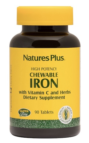 Image of Iron  with Vitamin C 27/100 mg Chewable