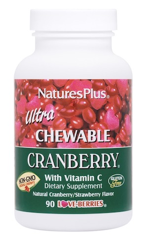 Image of Ultra Chewable Cranberry Cranberry/Strawberry