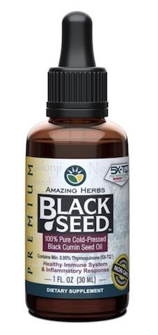 Image of Premium Black Seed Oil Liquid