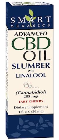 Image of Advanced CBD Oil Slumber with Linalool 285 mgs Liquid Tart Cherry