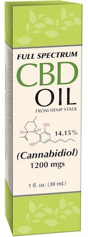 Image of CBD Oil (from hemp stalk) 7.9% 160 mgs Liquid Full Spectrum