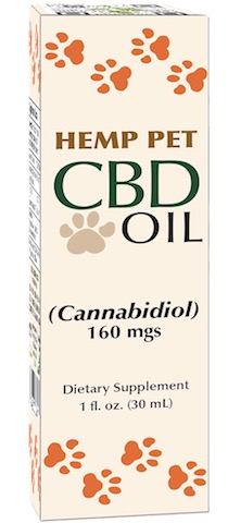 Image of Hemp Pet CBD Oil 160 mgs Liquid