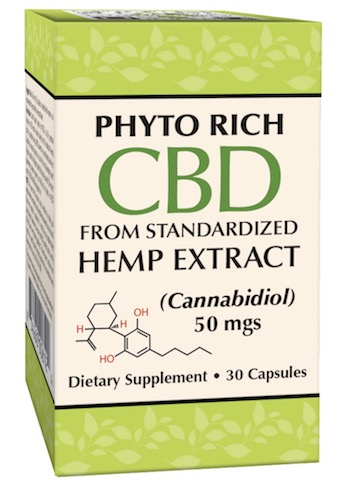Image of Phyto Rich CBD 50 mgs Capsule