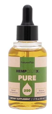 Image of HempCeutix Pure Hemp Oil 250 (5 mg per Serving) Liquid