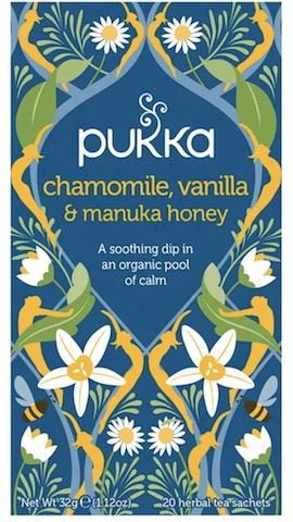 Image of Tea Chamomile, Vanilla & Manuka Honey Organic