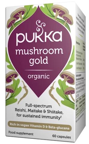Image of Mushroom Gold Capsule