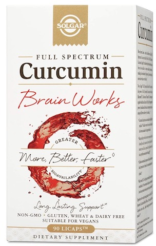 Image of Full Spectrum Curcumin Brain Works