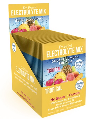 Image of Electrolyte Mix Powder Tropical