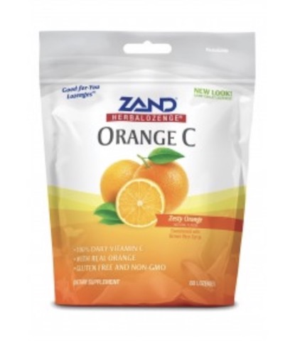Image of HerbaLozenge Orange C Zesty Orange