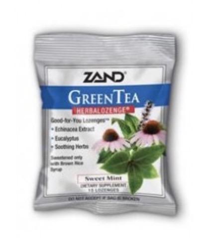 Image of HerbaLozenge Green Tea with Echinacea Sweet Mint