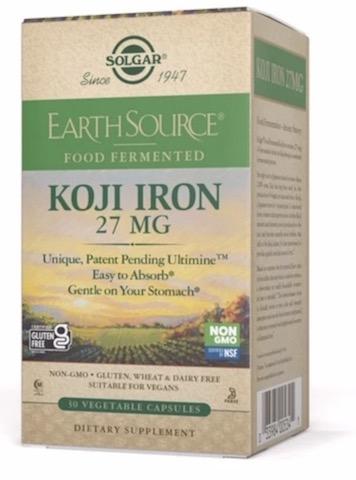 Image of EarthSource Koji Iron 27 mg