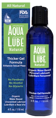 Image of Aqua Lube Personal lubricant Thicker Gel Formula (Water-Based)