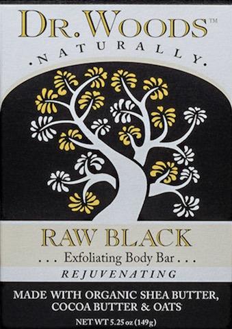 Image of Bar Soap Raw Black (Exfoliating)
