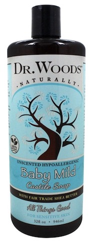 Image of Liquid Castile Soap with Shea Butter Baby Mild Unscented