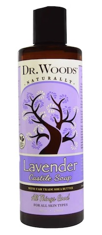 Image of Liquid Castile Soap with Shea Butter Lavender