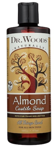 Image of Liquid Castile Soap with Shea Butter Almond