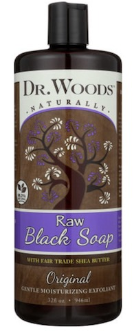 Image of Liquid Black Soap Raw Black Soap Original