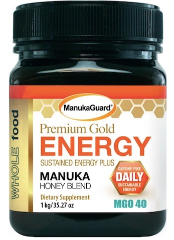 Image of Premium Gold Energy Manuka Honey Blend MGO 40