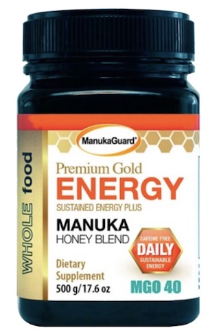 Image of Manuka Honey Blend Premium Gold Energy MGO 40
