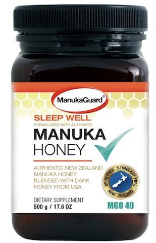 Image of Manuka Honey Blend Sleep Well MGO 40