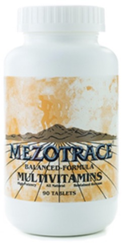 Image of Mezotrace Balanced Formula Multivitamins