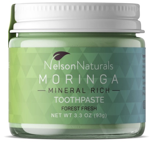 Image of Toothpaste Jar Moringa Mineral Rich Forest Fresh