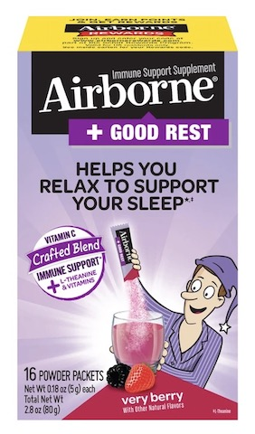 Image of Airborne + Good Rest Powder Very Berry