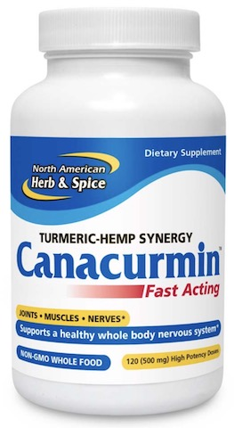 Image of Canacurcumin Turmeric-Hemp Syngergy Softgel